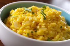 Risotto alla Milanese is made in Milan. It's rice with saffron. You can eat it everywhere but only the best restaurants in Milan can cook a real risotto.