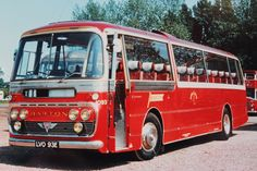 Late 1960s coaches - Barton Transport fleet no 1093 was another of the 1967 batch of Plaxton bodied AEC Reliance 691s