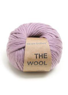 100% Wolle aus Peru Malve