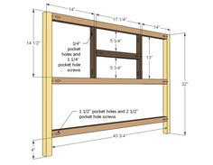 Ana White | Build a Rhyan Console Table | Free and Easy DIY Project and Furniture Plans.  Good idea site!