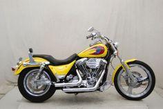 Harley-Davidson : FXR 2000 Harley Davidson FXR4 Yellow P12493