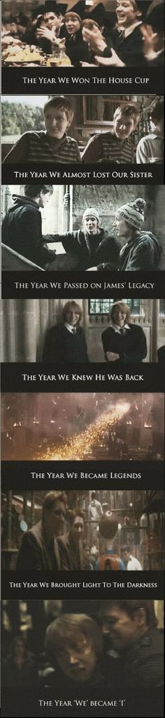 Funny pictures about Hogwarts as seen by the twins. Oh, and cool pics about Hogwarts as seen by the twins. Also, Hogwarts as seen by the twins. Harry Potter World, Images Harry Potter, Mundo Harry Potter, Harry Potter Jokes, Harry Potter Triste, Dramione, Golden Trio, Scorpius And Rose, Movies Quotes