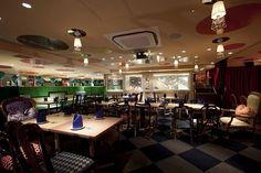 Alice in Wonderland Themed Restaurant in Tokyo
