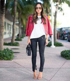 (160) Fancy - Zippy Coated Jeans