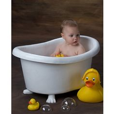 Ducks in a Tub - Kids Bathtub Posing Prop @ http://www.backdropexpress.com  I would love to have this as my friends and family are always asking me to take photos.  This would be a great addition and add to being more creative in my photography  Theresa Stork Limousine Services
