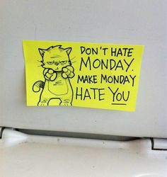 Don't hate Monday! - http://www.dravenstales.ch/dont-hate-monday/