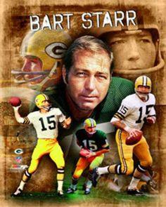 Bart Starr THE LEGEND Green Bay Packers Career Premium Poster Print http://clektr.com/b2db