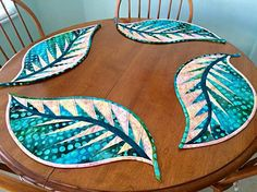 Tea Time Placemats, Quiltworx.com, Made by Harriet Hardy.