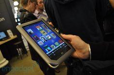 Barnes & Noble's Nook Tablet is a cool e-reader/tablet hybrid. $249