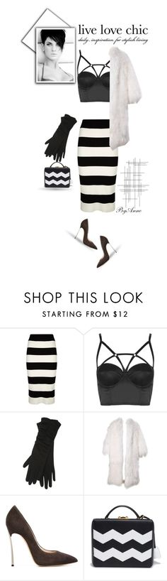 """Live .Love .Chic"" by anne-977 ❤ liked on Polyvore featuring Milly, Topshop, M&Co, Casadei, Mark Cross, Crate and Barrel, vintage, women's clothing, women and female"