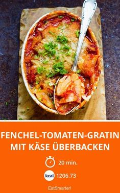 Baked fennel and tomato gratin with cheese Healthy Ground Beef, Ground Beef Recipes Easy, Healthy Crockpot Recipes, Dinner Recipes Easy Quick, Vegetarian Recipes Dinner, Quick Easy Meals, Healthy Low Carb Dinners, Healthy Family Dinners, Clean Eating Recipes