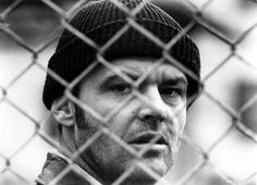 jack nicholson, one flew over the cuckoo's nest