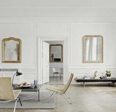 Poul Kjaerholm Wicker Chairs Remodelista: used in Julian King's Chelsea townhouse project