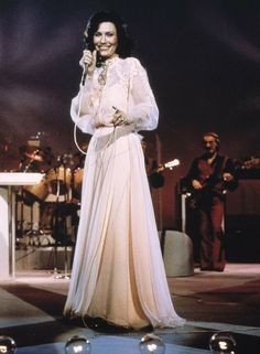 "Loretta Lynn, country music singer and songwriter-legend: ""I'm a Honky-Tonk Girl,"" ""A Coal Miner's Daughter."""
