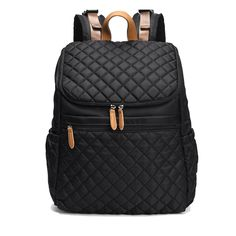A high quality stylish design made for Mom AND Dad. This diaper bag is fashionable, lightweight and comfortable to wear for long hours. It has separate inside pockets, an internal lining, wide non-slip straps, and separate front and side pocket to hold valuables, small items and or phone/tablet. A wide zippered flap provides ample space so you'll never be digging for your baby wipes and extra socks again. Feel stylish right away with this modern, ultra light diaper backpack. Best Diaper Backpack, Backpack Bags, Leather Backpack, Fashion Backpack, Laptop Backpack, Nylons, Baby Diaper Bags, Chic Diaper Bag, Stylish Diaper Bags