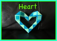 Smiggle Snake Puzzle (Rubik's Twist): How to make a Heart Tutorial Video.  Check out the new Facebook Page where you will find images of all Antoine's video tutorials to date together with links to all his videos. Click the 'Like' button to see his Facebook posts when he uploads new videos https://www.facebook.com/AntoineTutorials :)
