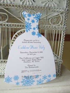 abbfdb321967bfe148adee6a082af929 winter bridal showers snow showers frozen winter wonderland bridal shower invitation custom die cut,Winter Wonderland Bridal Shower Invitations