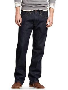 1969 standard fit jeans (resin rinse) - Our favorite and yours, the standard jean is the easy, everyday, every-guy jeans. No bells, no whistles, no brainer. With these, anything goes, from a worn-in T to a classic oxford.
