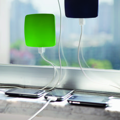 Green Window Solar Charger - £55.95 www.naturalcollection.com