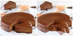 Čokoládový dort bez vaření, bez pečení, který válcuje internet recept   iRecept.cz Raw Vegan Cheesecake, Cheesecake Recipes, Snack Recipes, Cooking Recipes, Snacks, Sweet Desserts, Delicious Desserts, Swiss Roll Cakes, Ice Cream Candy