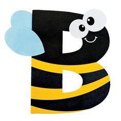 b is for bumblebee letter b craft kit oriental trading