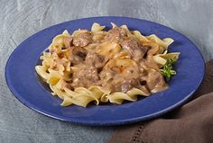 Easy Crock-Pot® Beef Stroganoff - Kidney-Friendly Recipes - DaVita