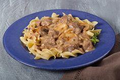Easy Crock-Pot® Beef Stroganoff - Kidney-Friendly Recipes - DaVita