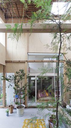 House Komazawa Park by miCo.