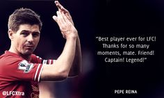 Stevie tributes: 24 football stars praise the iconic Liverpool FC captain - Liverpool FC