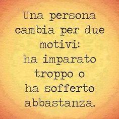 Una #persona cambia ...