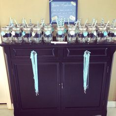 Display for party favors