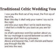 Image Result For Viking Wedding Vows Irish Wedding Traditions Viking Wedding Irish Wedding Vows