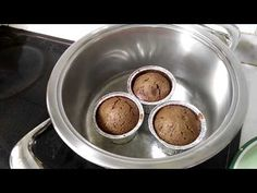 Coulant de Chocolate sin HORNO | RECETA AMC - YouTube Chocolate, Youtube, Food, Soup Bowls, Breads, Pots, Oven, Deserts, Easy Meals