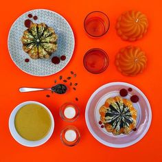 For a taste of Halloween, head to the #ConranKitchen in our Marylebone store. On the menu today: Pumpkin Soup   Tea light holders by #MassimoLunardon, #WonkiWare plates and jelly candles all available at The Conran Shop.  #Halloween #Foodie #Pumpkin #TheConranShop #autumn
