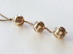 "Kalevala Koru Vintage bronze ""Halikko"" necklace Finland by LifeUpNorth Archaeological Finds, Open Ring, Handmade Silver, Finland, 1980s, Silver Jewelry, Bronze, Stud Earrings, Pendants"
