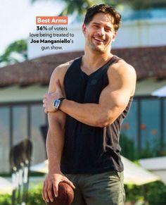 Joe Manganiello - People Magazine's '50 Most Beautiful' issue - May 5, 2014