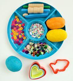 Fish Play Dough Invitation to Play Fish Activities, Playdough Activities, Preschool Activities, Summer Activities, Preschool Kindergarten, Rainbow Fish, Ocean Themes, Eyfs, Play Doh