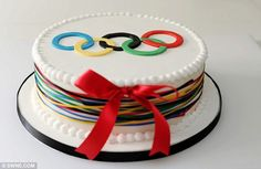 olympic cakes - Google Search