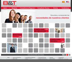 Cliente:  B&T - www.btccr.com Design Web