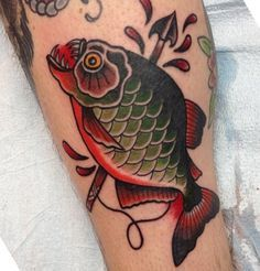 fish tattoos old school - Google Search More