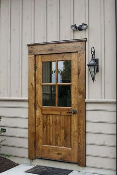 A beautiful entry door.