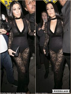 They never let the family down when it comes to their party attire. And Kourtney and Khloe Kardashian did their famous relatives proud in elegant yet seriously sexy ensemble as they stepped out for Justin Bieber's private post-Grammys party at The Nice Guy on Monday night. Arriving at the Hollywood venue after the music ceremony had wound down, the stunning reality TV sisters looked to be indulging in a bit of friendly competition over who could show off the most amount of cleavage.