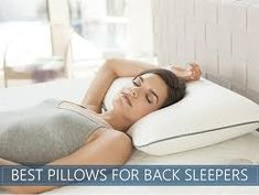 Best Pillows for Back Sleepers 2020 - Top Back Sleeper - The Best Pillow Based On Advise - Provolyn Most Comfortable Pillow, Shape Of Your Body, Side Sleeper Pillow, Traditional Pillows, Foam Pillows, Best Mattress, Back Pillow, Ways To Relax, Perfect Pillow