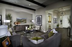 Living Room At Arista Plan 1 | New Homes In Santa Clarita In The Exclusive  Aliento