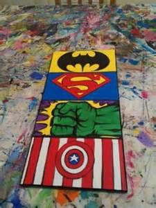 Superhero Wall Art On Canvas - Bing Images