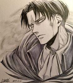 Attack on Titan Fanarts Anime, Manga Anime, Anime Art, Attack On Titan Fanart, Attack On Titan Levi, Levi Ackerman, Anime Character Drawing, Anime Sketch, Drawing Sketches