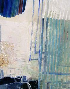 Josette Urso, Cloud Fall 2013, Oil on panel mackenzie portwood