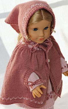 Welcome to Maalfrid Gausel doll knitting patterns store - the most lovely knitting patterns for dolls Knitting Dolls Clothes, Baby Doll Clothes, Crochet Doll Clothes, Knitted Dolls, Small Knitting Projects, Kids Knitting Patterns, Baby Knitting, Barbie Clothes Patterns, Doll Patterns