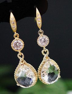 Wedding Jewelry Bridal Earrings Bridesmaid Earrings