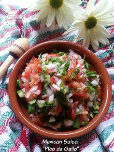 You can serve this fresh Mexican salsa or pico de gallo as an appetizer #ABRecipes
